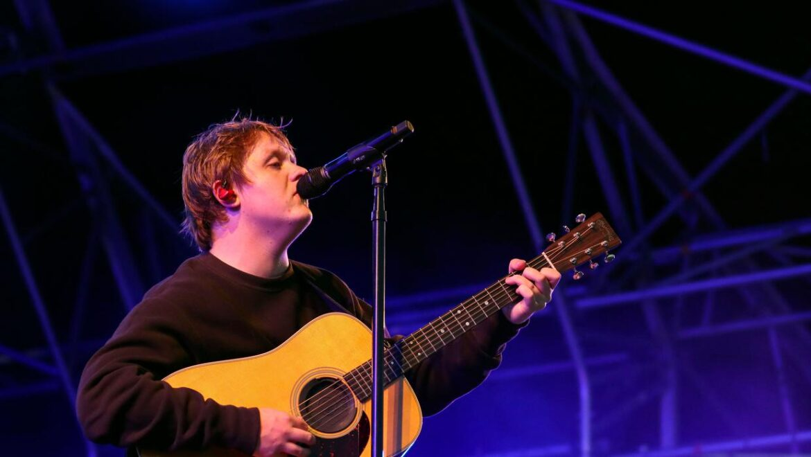 Lewis Capaldi offers update on highly-anticipated second album