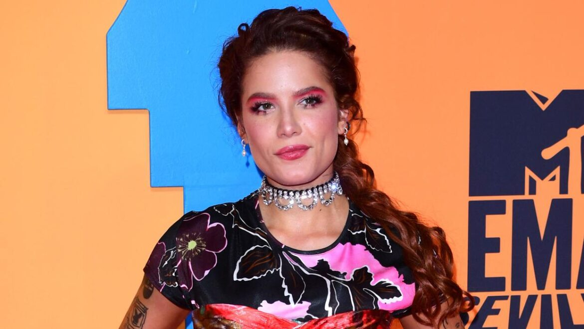 Halsey hits out at speculation over her pregnancy