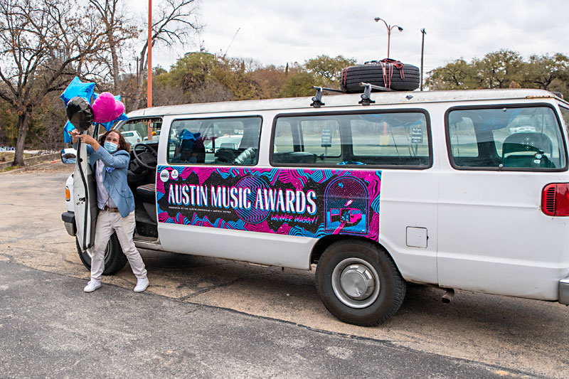 Faster Than Sound: Only in Austin: The 2020-2021 Austin Music Award Sweepstakes: Austin Music Poll's 40th anniversary inspires mobile sweepstakes and emotional write-ins – Music