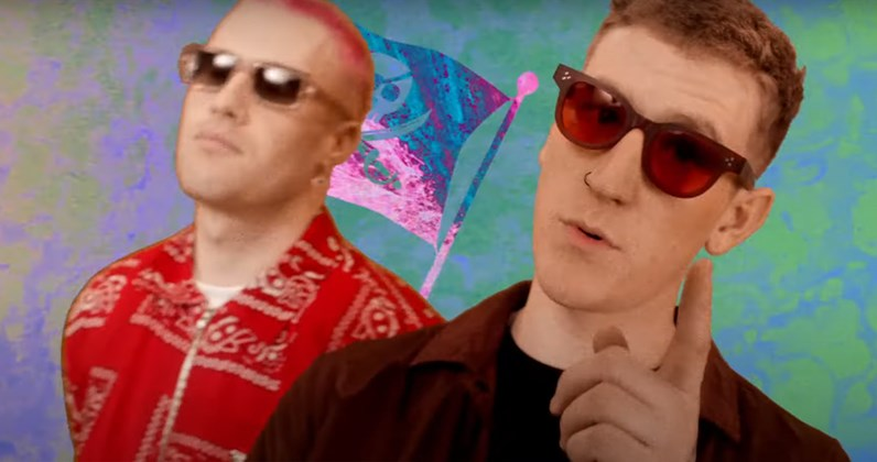 Nathan Evans unveils psychedelic Wellerman music video