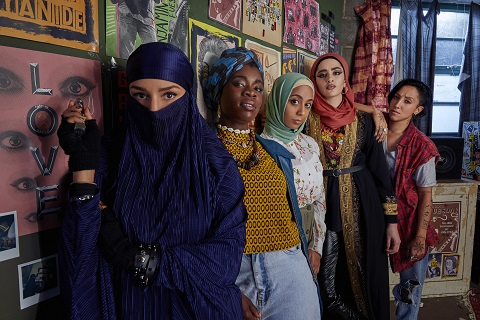 """Breaking News – Peacock Unveils First-Look Photo of Irreverent, Anarchic and Joyful Music Comedy """"We Are Lady Parts"""" from Nida Manzoor"""