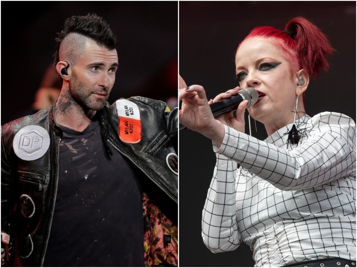 Shirley Manson mocks Adam Levine's claim there are 'no bands anymore'