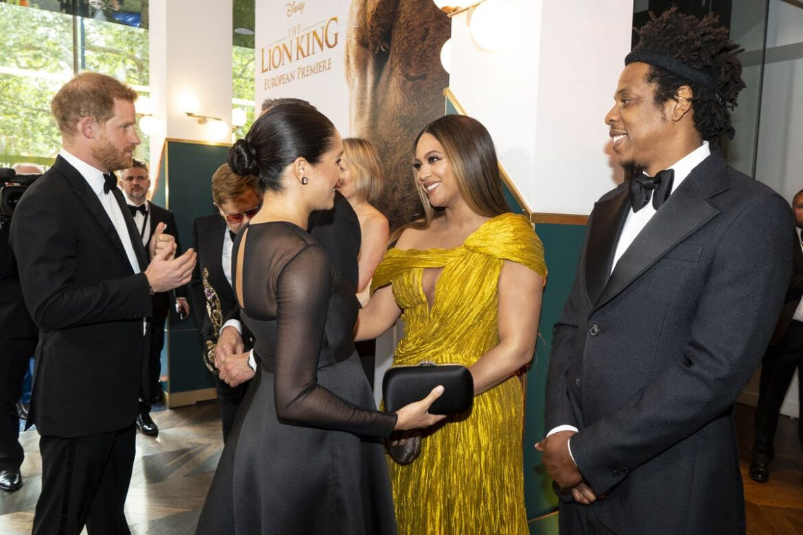 Oprah interview: Beyoncé thanks Meghan Markle for 'courage and leadership'