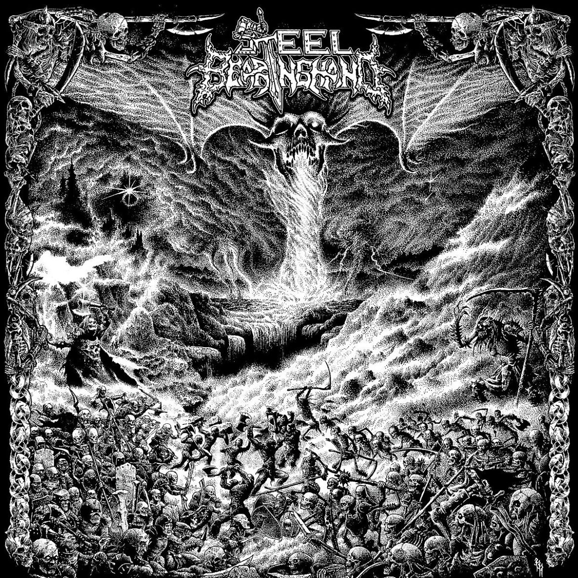 Stream Texas death-thrashers Steel Bearing Hand's ripping new LP 'Slay In Hell'