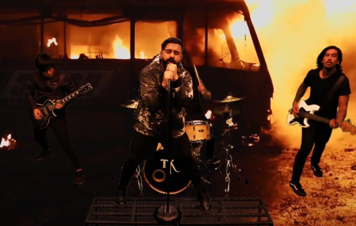 Trophy Knives release fiery music video for 'Nauseous'