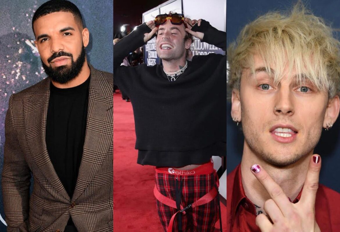 Is Drake down for a pop punk collab with MOD SUN and MGK?
