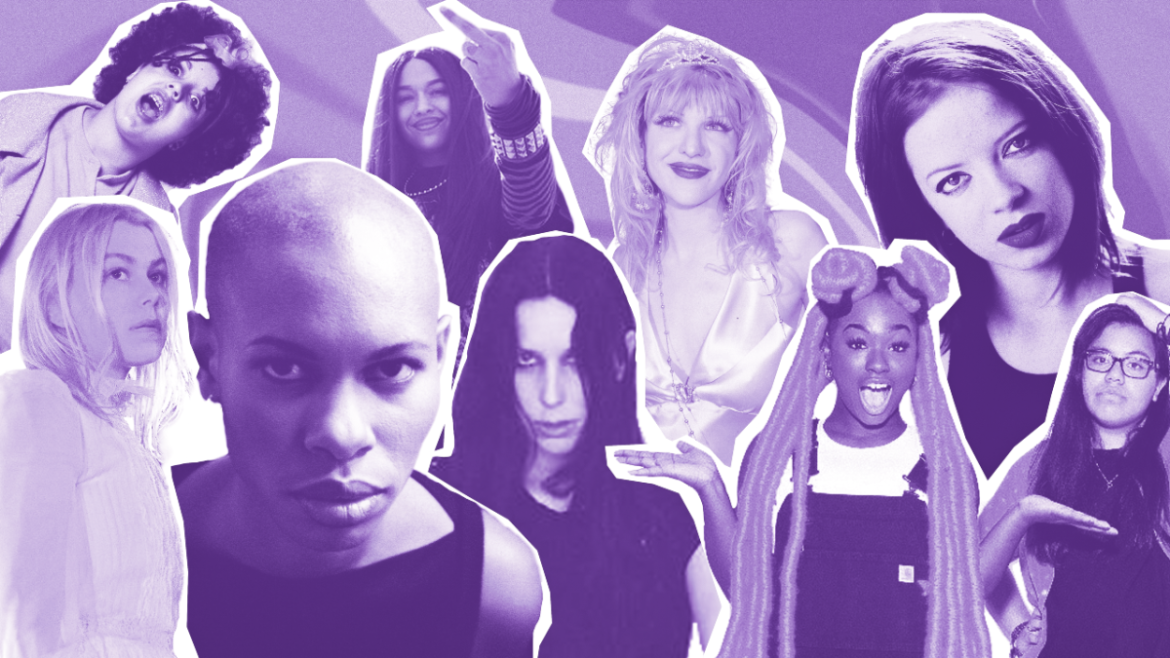 Here's 16 hours of music made by women for the benefit of anyone who still thinks proper music is only made by men