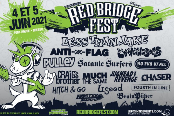 Festivals & Events: Red Bridge Fest postponed to 2022 – Punknews.org