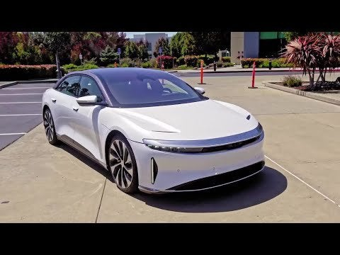 All-new 2022 Lucid AIR- And it's not only spacious, it's also packed wit…