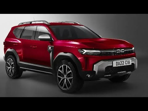 DACIA BIGSTER (2021) | Is that how the new Dacia SUV comes? | sketch