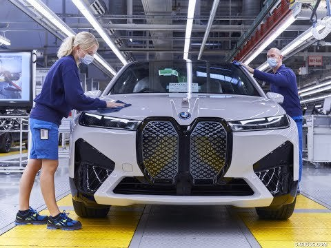 BMW iX 2022 – PRODUCTION Plant in Germany (This is how it is Made)