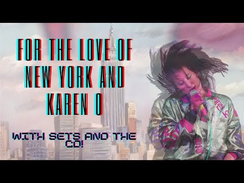 Made a video essay on Karen O, set against the cultural backdrop of the garage rock revival in New York. Sharing it here :)